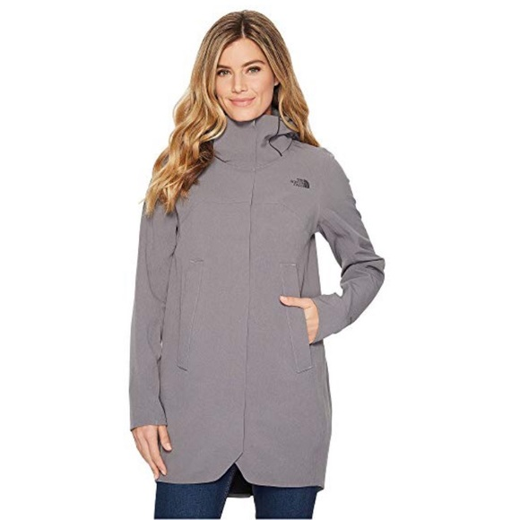 eb7122c00 NWT The North Face APEX Flex GTX Gray Trench Coat NWT